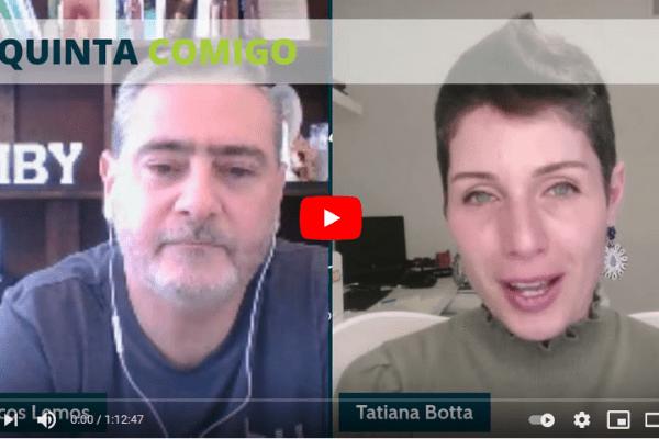 Coaching: Como Vender – Estratégias Para Começar Agora | Live com a coach Tati Botta no QuintaComigo